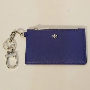 Robinson Leather Card Case with Key Chain